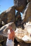Cezar on the South Ridge Trail