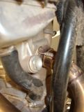 Exhaust Leakage at Headpipe Causes Significant Decel Popping