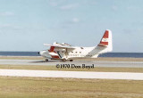 1970 - USCG HU-16 Albatross taking off at CG Air Station St. Petersburg