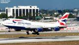 British B747-436 G-CIVH airliner aviation stock photo #2922
