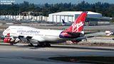 Virgin Atlantic B747-443 G-VGAL Jersey Girl airliner aviation stock photo #2930