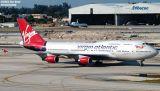 Virgin Atlantic B747-443 G-VGAL Jersey Girl airliner aviation stock photo #2932