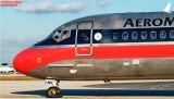 Aeromexico MD88 XA-AMV airliner aviation stock photo #2767