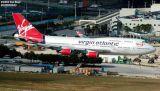 Virgin Atlantic B747-443 G-VLIP airliner aviation stock photo #3104