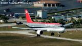Northwest Airlines A320-212 N356NW airline aviation stock photo #3082_US03