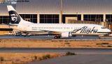 Alaska B737-490 N709AS airline aviation stock photo #5343