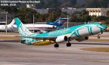 BWIA B737-8Q8 9Y-BGI airliner aviation stock photo #8538