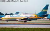 Bahamasair B737-275(A) C6-BGK airliner aviation stock photo