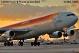 Iberia A340-313 EC-GGS Concha Espina aviation airliner stock photo #4063