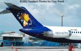 Africa One DC9 5X-TWO airliner aviation stock photo
