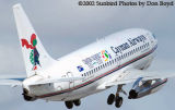 Cayman B737-236(A) VP-CKX airliner aviation stock photo