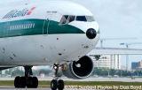 Alitalia MD-11 I-DUPO Niccolo Paganini airliner aviation stock photo