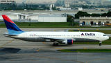 Delta Airlines B767-332 N132DN airline aviation stock photo
