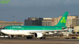 Aer Lingus A330-202 EI-LAX airliner aviation stock photo
