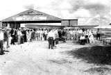 1929 - Ground breaking ceremony at Curtiss Flying Service / Pitcairn Aviation (later Eastern Air Lines) hangar