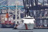 The USCGC BERTHOLF (WMSL 750) coming out of the Port of Miami, photo #1947