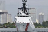 The USCGC BERTHOLF (WMSL 750) coming out of the Port of Miami, photo #1950