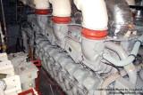 Engine #2 (MTU V20 1163 diesel with 9700HP) onboard the USCGC BERTHOLF (WMSL 750), photo #0555