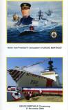 Artist Tom Freeman's conception of USCGC BERTHOLF - USCGC BERTHOLF Christening
