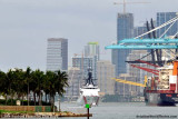 The USCGC BERTHOLF (WMSL 750) coming out of the Port of Miami, photo #1940