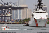 The USCGC BERTHOLF (WMSL 750) coming out of the Port of Miami, photo #1949