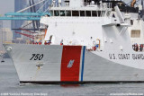 The USCGC BERTHOLF (WMSL 750) coming out of the Port of Miami, photo #1956
