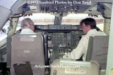 1973 - the captain and first officer in the cockpit of National Airlines B747-135 N77772 Patricia at LAX