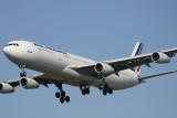 AF 340 approaching PHL RWY 27R