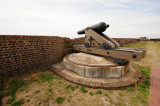 Fort Pulaski gun, normal viewpoint.