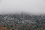 Snow on Grandfather Mountain