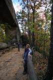 Below Natural Bridge