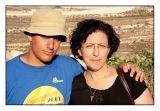 With Mum!