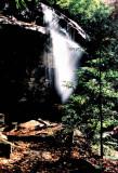 Slick Rock Falls About 30 Ft. NC.