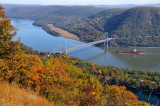 Hudson River & Bear Mountain Bridge