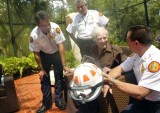 2008 - Bill Haast honored by Miami-Dade Fire Rescue Venom Response Unit