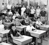 1958-1959 - Mr. William R. Hall's 6th grade class at Springview Elementary School (right half)