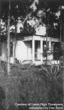 1938 - Frank McCall's home, kidnapper of baby Skeegie Cash, back when we had pine trees all over