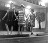 1962 - Linda High, Ethel Davies and Sandra Valido in a Kensington Park Elementary School talent show