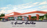 Early 1950's - The Great Gables, world's most beautiful drive-in restaurant