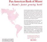 1954 Pan American Bank moving booklet, Miami, Florida