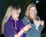 2008 - Karen and Donna taking photos of Kyler on Halloween