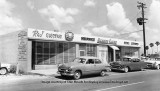 1950's - R&J Electric, South Florida Insurance Agency, Lee's Beauty Salon, and Lucille Brunner Real Estate in North Miami Beach