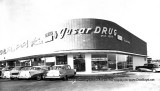 1957 - Gusar Drug store on Collins Avenue in Sunny Isles