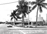 1951 - looking west from Alton Road and Dade Boulevard on Miami Beach