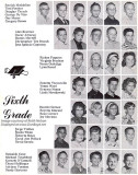 1964 - 6th grade class at Dr. John G. DuPuis Elementary School - page 2
