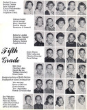 1964 - 5th grade class at Dr. John G. DuPuis Elementary School - page 1
