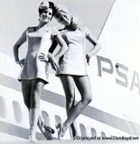 Two beauties from PSA (Pacific Southwest Airlines)