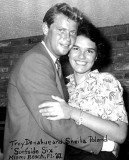 Largo - Sheila Poland, with actor Troy Donahue in 1961