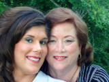 Fran - Frances Cannon, 59, with her 21-year old daughter Kimberly in 2009