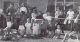 1963-1964 - the Gymnastics Club at Dr. John G. DuPuis Elementary School in Hialeah